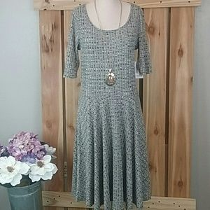 LulaRoe Nicole Dress XL NWT